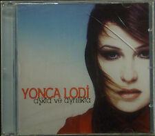 CD YONCA LODI - askta ve ayrilikta New - original packaging