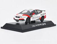 1/43 Honda Civic 9th generation 2015 Touring car #9 Diecast Car Model