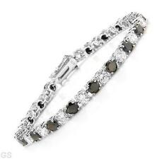 Majestic Solid Sterling Silver CZ  Bracelet 7 in Weimaraner Rescue Charity