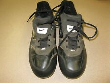 Nike MVP Keystone Baseball Cleats Men's Size 10.5  335189-011 Black White Cubs