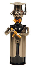 EXTRAVAGANTES Vino Soporte de botellas Student de metal altura 21,5 cm