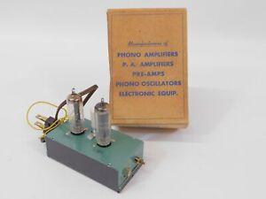 Teeco Trutone Electronics Vintage Tube Phono Oscillator (new old stock)