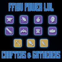 FFXIV POWER LEVEL - ALL CRAFTERS & GATHERERS LVL 80 - FINAL FANTASY XIV BOOST PC