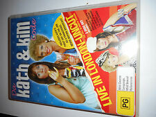 DA KATH AND KIM LIVE IN LONDON DVD SET,rare