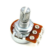200 pcs, B1M 16mm Potentiometer w/Solder Lugs Knurled Shaft - Alpha Us Seller
