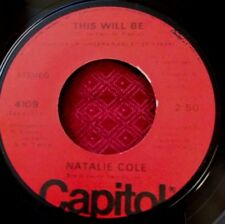 Natalie Cole - This Will Be / Joey - 1975 Capitol 4109 - 45rpm - NM