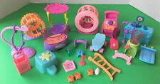 Hasbro Littlest Pet Shop ~ Exercise Equipment Accessories Lot ~ Authentic Lps