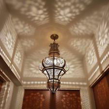 Pendant-Light-Fixture-Hanging-Light-Chandelier-Handmade-Metal-Moroccan-Lighting