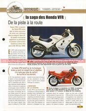 HONDA VFR 750 F 800 RC 30 45 RVF Story 1985-2002 Joe Bar Team Fiche Moto #003660