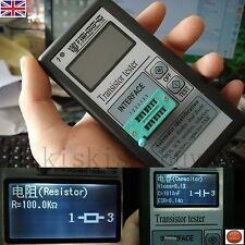Portable 12864 LCD Transistor Tester Capacitance ESR Meter Diode Triode MOS NPN