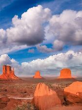 BUTTES OF MONUMENT VALLEY SUNSET UTAH USA PHOTO ART PRINT POSTER BMP2214A