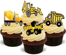 Diggers Mix C Stand Up Premium Card Cake Toppers