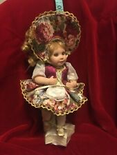 Marie Osmond Doll Edelweiss Tiny Dancer with star stand