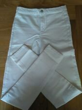 Primark White Ladies High Waist Skinny Jeggings
