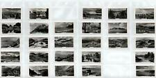 PETER JACKSON BEAUTIFUL SCOTLAND CIGARETTE CARDS 27/28 - ONLY MISSING #16