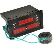 New Watt Power Meter Voltage Volt Ampere Digital Tester Ac 110220v80 300v0 100a