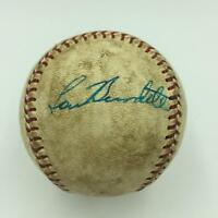 1966 Lew Burdette Signed Game Used American League Baseball With JSA COA