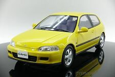 OttO mobile 1/18 scale Honda Civic SiR II EG6 Yellow OT711 Limited 300pcs