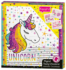Adventskalender Einhorn Unicorn Schminke Kosmetik Pastell Mädchen Kinder 2018!!!