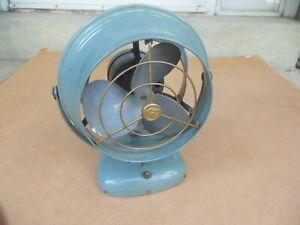 Vintage Vornado Jr. Metal Desk Table Fan Model 14C2-1 Working