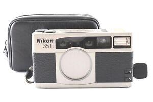 """App N MINT + Case"" Nikon 35Ti 35mm Point & Shoot Film Camera + Strap Japan 0560"