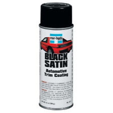 Bondo Mar-Hyde 3811 Trim Paint - Black Satin 12 Oz. Aerosol
