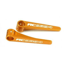 Xray T4 2016 2017 CNC Orange aluminum rear body support 6mm 2PCS RBS6OR