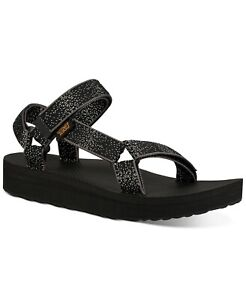 Teva Womens Midform Universal Sandals 1090969 in Black Constellation Multi Sizes