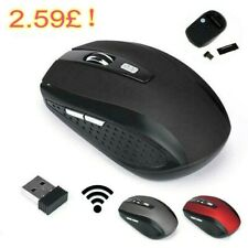 2.4GHz WIRELESS CORDLESS MOUSE MICE OPTICAL SCROLL FOR PC LAPTOP COMPUTER + USB