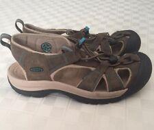 Keen Women's Sandals Sz 9 Venice Leather Waterproof Sport 5210-DECS Size 9M