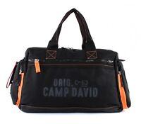 CAMP DAVID Rock Ridge Travel Bag Reisetasche Black Schwarz Neu