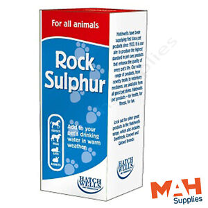 Hatchwells Rock Sulphur Water Additive Keep Your Pets Cool in Warm Weather