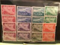 Liberia Air Mail 1942 mint never hinged stamps Ref 52015
