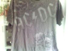 """Ac/Dc Angus/Skull """"Liquid Blue"""" Concert T-Shirt Sz-Xl"""