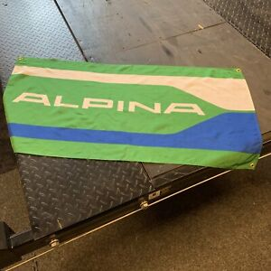 BMW Alpina Green Dealer Banner C1 C2 C3 E21 750i Euro Drift German Motor Sport M