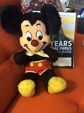 "VINTAGE MICKEY MOUSE 18"" Plush Doll Disney Stuffed Toy - Rare Brown Nose!"