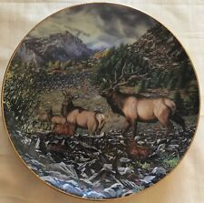 Battle Call By Bruce Miller Danbury Mint High Country Pride Plate No.B3524