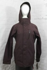 Volcom L Gore-Tex Shell Snowboard Jacket, Mens' Large, Black Red New