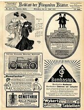 Nekarsulmer Fahrradwerke Bombastus-Werke Peter Rosegger Hotel Brienz E.Ha...1907