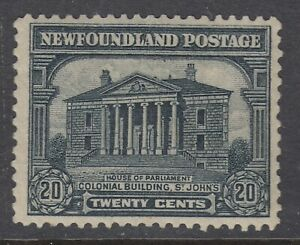 Newfoundland # 157 Mint Hinged Very Fine Single