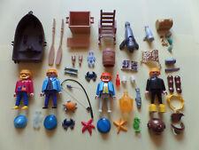 Playmobil submarinista bote de pesca personajes mecedora mar ua. buzo barco etcétera