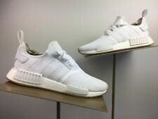 f96e34928 adidas Originals NMD R1 Men New Boost Sneakers Cloud White Gum Shoes D96635
