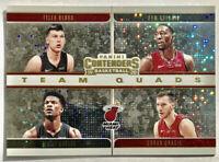 2019-2020 Panini Contenders Bam Adebayo Sparkle Prizm Team Squad Miami Heat 🔥📈