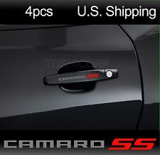 4 CAMARO SS Stickers Decals Chevrolet Door handle Wheels Rims Mirror SILVER
