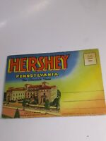 Vintage Hershey Pennsylvania The Chocolate Town Souvenir Postcard Booklet...1955