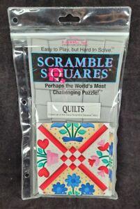 Scramble Squares Puzzle Quilts B Dazzle 9 Square Challenging Brainteaser 1994
