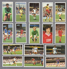 CIGARETTE/TRADE/CARDS.Bassett Sweets.FOOTBALL 1985/86.(Complete Set of 48)(1986)