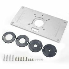 Aluminium Router Trimmer Table Insert Plate for Rt0700c