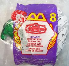 1999 McDonald's Happy Meal Saban's Mystic Knights of Tirna Nog Lugad MIP C10!