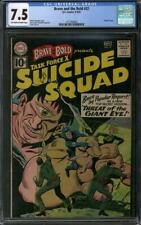 Brave and the Bold #37 CGC 7.5 (OW-W)  Suicide Squad